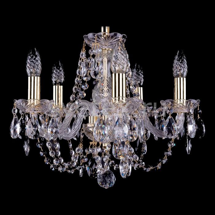 Фото Подвесная люстра Bohemia Ivele Crystal 1406 1406/5/141/G