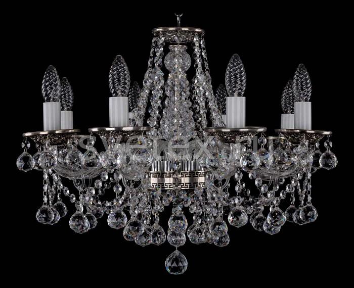 Фото Подвесная люстра Bohemia Ivele Crystal 1613 1613/8/200/NB/Balls
