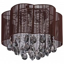 Накладной светильник MW-LightКруглые<br>Артикул - MW_465014406,Бренд - MW-Light (Германия),Коллекция - Жаклин,Гарантия, месяцы - 24,Высота, мм - 400,Диаметр, мм - 450,Тип лампы - компактная люминесцентная [КЛЛ] ИЛИнакаливания ИЛИсветодиодная [LED],Общее кол-во ламп - 6,Напряжение питания лампы, В - 220,Максимальная мощность лампы, Вт - 60,Лампы в комплекте - отсутствуют,Цвет плафонов и подвесок - дымчатый, неокрашенный, темно-коричневый,Тип поверхности плафонов - матовый, прозрачный,Материал плафонов и подвесок - лен, хрусталь,Цвет арматуры - хром,Тип поверхности арматуры - глянцевый,Материал арматуры - металл,Возможность подлючения диммера - можно, если установить лампу накаливания,Тип цоколя лампы - E14,Класс электробезопасности - I,Общая мощность, Вт - 360,Степень пылевлагозащиты, IP - 20,Диапазон рабочих температур - комнатная температура,Дополнительные параметры - способ крепления светильника к потолку - на монтажной пластине<br>