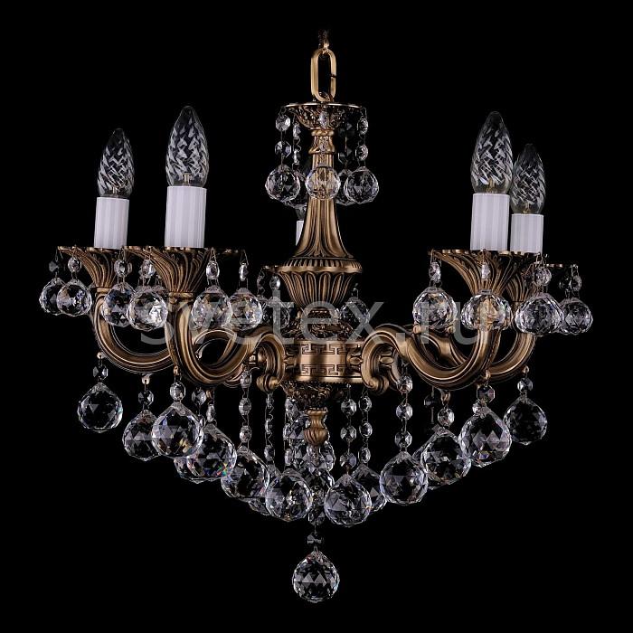 Фото Подвесная люстра Bohemia Ivele Crystal 1701 1701/5/B/FP/Balls