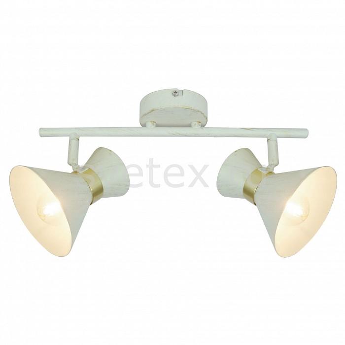 Спот Arte LampСпоты<br>Артикул - AR_A1406AP-2WG,Бренд - Arte Lamp (Италия),Коллекция - Baltimore,Гарантия, месяцы - 24,Длина, мм - 360,Ширина, мм - 100,Выступ, мм - 190,Тип лампы - компактная люминесцентная [КЛЛ] ИЛИнакаливания ИЛИсветодиодная [LED],Общее кол-во ламп - 2,Напряжение питания лампы, В - 220,Максимальная мощность лампы, Вт - 40,Лампы в комплекте - отсутствуют,Цвет плафонов и подвесок - белый,Тип поверхности плафонов - матовый,Материал плафонов и подвесок - металл,Цвет арматуры - белый, золото,Тип поверхности арматуры - матовый,Материал арматуры - металл,Количество плафонов - 2,Возможность подлючения диммера - можно, если установить лампу накаливания,Тип цоколя лампы - E14,Класс электробезопасности - I,Общая мощность, Вт - 80,Степень пылевлагозащиты, IP - 20,Диапазон рабочих температур - комнатная температура,Дополнительные параметры - способ крепления светильника к стене и потолку - на монтажной пластине, повоторный светильник<br>