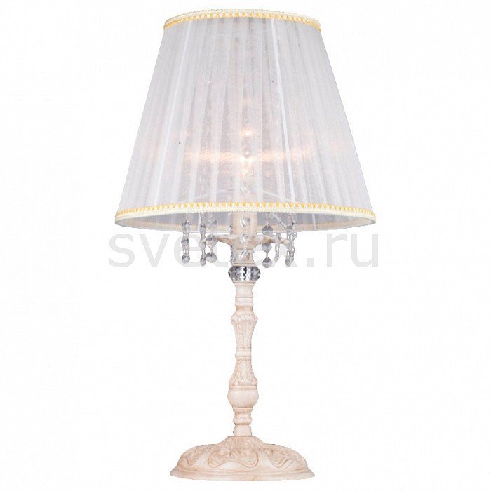 Фото Настольная лампа Maytoni Omela ARM020-11-W
