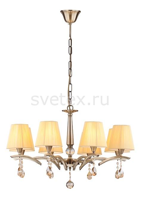 Подвесная люстра MaytoniСветильники<br>Артикул - MY_ARM901-08-R,Бренд - Maytoni (Германия),Коллекция - Arte,Гарантия, месяцы - 24,Высота, мм - 485-960,Диаметр, мм - 700,Тип лампы - компактная люминесцентная [КЛЛ] ИЛИнакаливания ИЛИсветодиодная [LED],Общее кол-во ламп - 8,Напряжение питания лампы, В - 220,Максимальная мощность лампы, Вт - 40,Лампы в комплекте - отсутствуют,Цвет плафонов и подвесок - бежевый, янтарный,Тип поверхности плафонов - матовый, прозрачный,Материал плафонов и подвесок - текстиль, хрусталь,Цвет арматуры - бронза, неокрашенный,Тип поверхности арматуры - матовый, прозрачный,Материал арматуры - металл, хрусталь,Количество плафонов - 8,Возможность подлючения диммера - можно, если установить лампу накаливания,Тип цоколя лампы - E14,Класс электробезопасности - I,Общая мощность, Вт - 320,Степень пылевлагозащиты, IP - 20,Диапазон рабочих температур - комнатная температура,Дополнительные параметры - способ крепления светильника к потолку - на крюке, регулируется по высоте<br>