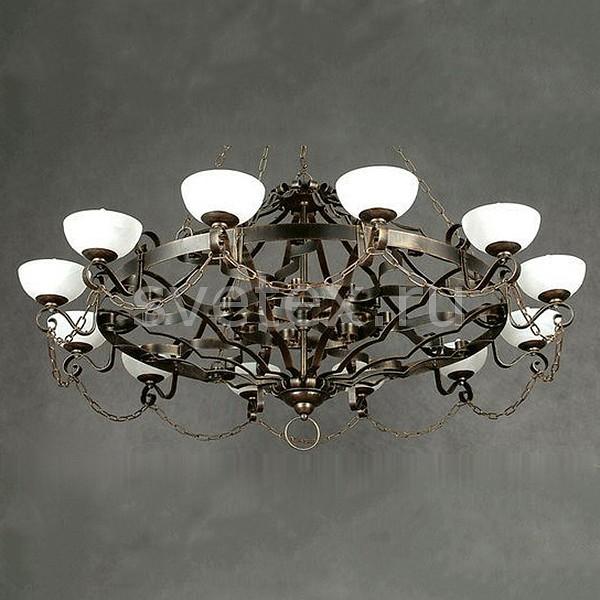 Подвесная люстра РассветЛюстры<br>Артикул - RS_RL_3012P_H,Бренд - Рассвет (Россия),Коллекция - Кастилья,Гарантия, месяцы - 24,Время изготовления, дней - 1,Высота, мм - 700,Диаметр, мм - 1320,Тип лампы - компактная люминесцентная [КЛЛ] ИЛИнакаливания ИЛИсветодиодная [LED],Общее кол-во ламп - 12,Напряжение питания лампы, В - 220,Максимальная мощность лампы, Вт - 60,Лампы в комплекте - отсутствуют,Цвет плафонов и подвесок - белый,Тип поверхности плафонов - матовый,Материал плафонов и подвесок - стекло,Цвет арматуры - черный с золотой патиной,Тип поверхности арматуры - глянцевый,Материал арматуры - металл,Количество плафонов - 12,Возможность подлючения диммера - можно, если установить лампу накаливания,Тип цоколя лампы - E14,Класс электробезопасности - I,Общая мощность, Вт - 720,Степень пылевлагозащиты, IP - 20,Диапазон рабочих температур - комнатная температура,Дополнительные параметры - указана высота светильника без подвеса<br>