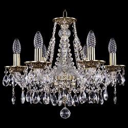 Подвесная люстра Bohemia Ivele Crystal5 или 6 ламп<br>Артикул - BI_1613_6_165_GB,Бренд - Bohemia Ivele Crystal (Чехия),Коллекция - 1613,Гарантия, месяцы - 24,Высота, мм - 390,Диаметр, мм - 500,Размер упаковки, мм - 450x450x200,Тип лампы - компактная люминесцентная [КЛЛ] ИЛИнакаливания ИЛИсветодиодная [LED],Общее кол-во ламп - 6,Напряжение питания лампы, В - 220,Максимальная мощность лампы, Вт - 40,Лампы в комплекте - отсутствуют,Цвет плафонов и подвесок - неокрашенный,Тип поверхности плафонов - прозрачный,Материал плафонов и подвесок - хрусталь,Цвет арматуры - золото черненое, неокрашенный,Тип поверхности арматуры - глянцевый, прозрачный, рельефный,Материал арматуры - латунь, стекло,Возможность подлючения диммера - можно, если установить лампу накаливания,Форма и тип колбы - свеча ИЛИ свеча на ветру,Тип цоколя лампы - E14,Класс электробезопасности - I,Общая мощность, Вт - 240,Степень пылевлагозащиты, IP - 20,Диапазон рабочих температур - комнатная температура,Дополнительные параметры - способ крепления светильника к потолку - на крюке, указана высота светильника без подвеса<br>