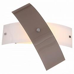 Накладной светильник ST-LuceСветодиодные<br>Артикул - SL338.501.01,Бренд - ST-Luce (Китай),Коллекция - Ovvio,Гарантия, месяцы - 24,Тип лампы - компактная люминесцентная [КЛЛ] ИЛИнакаливания ИЛИсветодиодная [LED],Общее кол-во ламп - 1,Напряжение питания лампы, В - 220,Максимальная мощность лампы, Вт - 60,Лампы в комплекте - отсутствуют,Цвет плафонов и подвесок - белый, коричневый,Тип поверхности плафонов - глянцевый, матовый,Материал плафонов и подвесок - стекло,Цвет арматуры - хром,Тип поверхности арматуры - глянцевый,Материал арматуры - металл,Возможность подлючения диммера - можно, если установить лампу накаливания,Тип цоколя лампы - E27,Класс электробезопасности - I,Степень пылевлагозащиты, IP - 20,Диапазон рабочих температур - комнатная температура,Дополнительные параметры - светильник предназначен для использования со скрытой проводкой<br>
