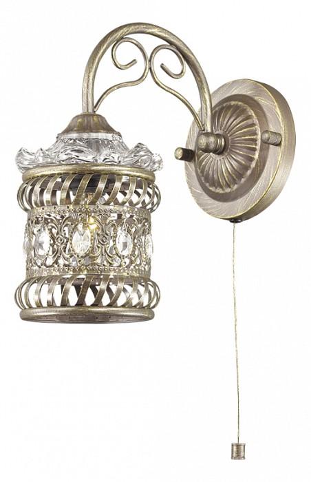 Бра Odeon LightСветодиодные<br>Артикул - OD_2838_1W,Бренд - Odeon Light (Италия),Коллекция - Zafran,Гарантия, месяцы - 24,Ширина, мм - 130,Высота, мм - 245,Выступ, мм - 225,Тип лампы - компактная люминесцентная [КЛЛ] ИЛИнакаливания ИЛИсветодиодная [LED],Общее кол-во ламп - 1,Напряжение питания лампы, В - 220,Максимальная мощность лампы, Вт - 40,Лампы в комплекте - отсутствуют,Цвет плафонов и подвесок - коричневый с патиной, неокрашенный,Тип поверхности плафонов - матовый, прозрачный,Материал плафонов и подвесок - металл, хрусталь,Цвет арматуры - коричневый с патиной,Тип поверхности арматуры - матовый,Материал арматуры - металл,Количество плафонов - 1,Наличие выключателя, диммера или пульта ДУ - выключатель шнуровой,Тип цоколя лампы - E14,Класс электробезопасности - I,Степень пылевлагозащиты, IP - 20,Диапазон рабочих температур - комнатная температура,Дополнительные параметры - способ крепления светильника на стене – на монтажной пластине, светильник предназначен для использования со скрытой проводкой<br>