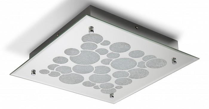 Накладной светильник MantraКвадратные<br>Артикул - MN_5550,Бренд - Mantra (Испания),Коллекция - Coral,Гарантия, месяцы - 24,Длина, мм - 350,Ширина, мм - 350,Высота, мм - 65,Тип лампы - светодиодная [LED],Общее кол-во ламп - 1,Напряжение питания лампы, В - 220,Максимальная мощность лампы, Вт - 23.5,Цвет лампы - белый,Лампы в комплекте - светодиодная [LED],Цвет плафонов и подвесок - хром с неокрашенным рисунком,Тип поверхности плафонов - глянцевый, прозрачный,Материал плафонов и подвесок - стекло,Цвет арматуры - хром,Тип поверхности арматуры - глянцевый,Материал арматуры - металл,Количество плафонов - 1,Возможность подлючения диммера - нельзя,Цветовая температура, K - 4000 K,Световой поток, лм - 940,Экономичнее лампы накаливания - в 3.4 раза,Светоотдача, лм/Вт - 40,Класс электробезопасности - I,Степень пылевлагозащиты, IP - 20,Диапазон рабочих температур - комнатная температура,Дополнительные параметры - способ крепления светильника к потолку – на монтажной пластине<br>