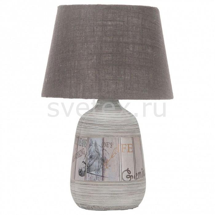Настольная лампа OmniluxС абажуром<br>Артикул - OM_OML-82604-01,Бренд - Omnilux (Италия),Коллекция - OML-826,Гарантия, месяцы - 24,Высота, мм - 440,Диаметр, мм - 280,Тип лампы - компактная люминесцентная [КЛЛ] ИЛИнакаливания ИЛИсветодиодная [LED],Общее кол-во ламп - 1,Напряжение питания лампы, В - 220,Максимальная мощность лампы, Вт - 60,Лампы в комплекте - отсутствуют,Цвет плафонов и подвесок - бежевый,Тип поверхности плафонов - матовый,Материал плафонов и подвесок - текстиль,Цвет арматуры - серый с рисунком,Тип поверхности арматуры - матовый,Материал арматуры - металл,Количество плафонов - 1,Наличие выключателя, диммера или пульта ДУ - выключатель на проводе,Компоненты, входящие в комплект - провод электропитания с вилкой без заземления,Тип цоколя лампы - E27,Класс электробезопасности - II,Степень пылевлагозащиты, IP - 20,Диапазон рабочих температур - комнатная температура<br>