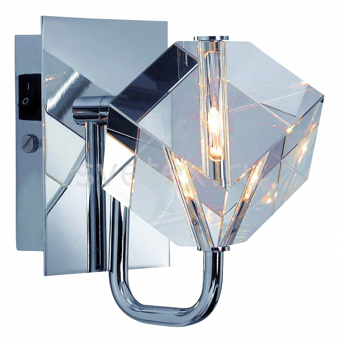 Бра markslojdХРУСТАЛЬНЫЕ светильники<br>Артикул - ML_101752,Бренд - markslojd (Швеция),Коллекция - Laholm,Гарантия, месяцы - 24,Ширина, мм - 100,Высота, мм - 140,Выступ, мм - 160,Тип лампы - галогеновая,Общее кол-во ламп - 1,Напряжение питания лампы, В - 12,Цвет лампы - белый теплый,Лампы в комплекте - галогеновая G4,Цвет плафонов и подвесок - неокрашенный,Тип поверхности плафонов - прозрачный,Материал плафонов и подвесок - хрусталь,Цвет арматуры - хром,Тип поверхности арматуры - глянцевый,Материал арматуры - металл,Количество плафонов - 1,Возможность подлючения диммера - нельзя,Компоненты, входящие в комплект - трансформатор 12В,Форма и тип колбы - пальчиковая,Тип цоколя лампы - G4,Цветовая температура, K - 2800 K,Экономичнее лампы накаливания - на 50 %,Класс электробезопасности - I,Напряжение питания, В - 220,Степень пылевлагозащиты, IP - 20,Диапазон рабочих температур - комнатная температура,Дополнительные параметры - способ крепления светильника к стене - на монтажной пластине, свентильник предназначен для использования со скрытой проводкой<br>