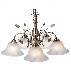 Подвесная люстра Globo5 или 6 ламп<br>Артикул - GB_69007-5H,Бренд - Globo (Австрия),Коллекция - Posadas,Гарантия, месяцы - 24,Высота, мм - 1000,Диаметр, мм - 600,Тип лампы - компактная люминесцентная [КЛЛ] ИЛИнакаливания ИЛИсветодиодная [LED],Общее кол-во ламп - 5,Напряжение питания лампы, В - 220,Максимальная мощность лампы, Вт - 60,Лампы в комплекте - отсутствуют,Цвет плафонов и подвесок - белый алебастр,Тип поверхности плафонов - матовый,Материал плафонов и подвесок - стекло,Цвет арматуры - бронза античная,Тип поверхности арматуры - матовый,Материал арматуры - металл,Возможность подлючения диммера - можно, если установить лампу накаливания,Тип цоколя лампы - E27,Класс электробезопасности - I,Общая мощность, Вт - 300,Степень пылевлагозащиты, IP - 20,Диапазон рабочих температур - комнатная температура,Дополнительные параметры - способ крепления к потолку - на крюке, регулируется по высоте<br>