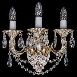 Бра Bohemia Ivele CrystalБолее 1 лампы<br>Артикул - BI_1700_3_C_GW,Бренд - Bohemia Ivele Crystal (Чехия),Коллекция - 1700,Гарантия, месяцы - 12,Высота, мм - 250,Размер упаковки, мм - 450x450x200,Тип лампы - компактная люминесцентная [КЛЛ] ИЛИнакаливания ИЛИсветодиодная [LED],Общее кол-во ламп - 3,Напряжение питания лампы, В - 220,Максимальная мощность лампы, Вт - 40,Лампы в комплекте - отсутствуют,Цвет плафонов и подвесок - неокрашенный,Тип поверхности плафонов - прозрачный,Материал плафонов и подвесок - хрусталь,Цвет арматуры - золото беленое,Тип поверхности арматуры - глянцевый, рельефный,Материал арматуры - металл,Возможность подлючения диммера - можно, если установить лампу накаливания,Форма и тип колбы - свеча ИЛИ свеча на ветру,Тип цоколя лампы - E14,Класс электробезопасности - I,Общая мощность, Вт - 120,Степень пылевлагозащиты, IP - 20,Диапазон рабочих температур - комнатная температура,Дополнительные параметры - способ крепления светильника – на монтажной пластине, светильник предназначен для использования со скрытой проводкой<br>