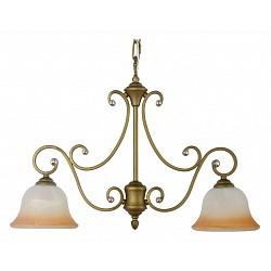 Подвесной светильник Arti LampadariБез плафонов<br>Артикул - AL_Carina_E_1.1.2_GB,Бренд - Arti Lampadari (Италия),Коллекция - Carina,Гарантия, месяцы - 24,Высота, мм - 500,Диаметр, мм - 600,Тип лампы - компактная люминесцентная [КЛЛ] ИЛИнакаливания ИЛИсветодиодная [LED],Общее кол-во ламп - 2,Напряжение питания лампы, В - 220,Максимальная мощность лампы, Вт - 60,Лампы в комплекте - отсутствуют,Цвет плафонов и подвесок - неокрашенные,Тип поверхности плафонов - прозрачный,Материал плафонов и подвесок - хрусталь,Цвет арматуры - золото с чернением, неокрашенный,Тип поверхности арматуры - матовый, прозрачный,Материал арматуры - металл, стекло,Возможность подлючения диммера - можно, если установить лампу накаливания,Тип цоколя лампы - E27,Класс электробезопасности - I,Общая мощность, Вт - 120,Степень пылевлагозащиты, IP - 20,Диапазон рабочих температур - комнатная температура,Дополнительные параметры - указана высота светильника без подвеса,  способ крепления светильника к потолку – на крюке<br>