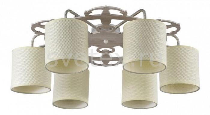 Потолочная люстра FreyaСветильники<br>Артикул - MY_FR100-06-W,Бренд - Freya (Германия),Коллекция - Timone,Гарантия, месяцы - 24,Высота, мм - 200,Диаметр, мм - 630,Тип лампы - компактная люминесцентная [КЛЛ] ИЛИнакаливания ИЛИсветодиодная  [LED],Общее кол-во ламп - 5,Напряжение питания лампы, В - 220,Максимальная мощность лампы, Вт - 40,Лампы в комплекте - отсутствуют,Цвет плафонов и подвесок - белый с каймой,Тип поверхности плафонов - матовый,Материал плафонов и подвесок - рогожка,Цвет арматуры - белый с золотой патиной,Тип поверхности арматуры - глянцевый, матовый,Материал арматуры - металл,Количество плафонов - 5,Возможность подлючения диммера - можно, если установить лампу накаливания,Тип цоколя лампы - E14,Класс электробезопасности - I,Общая мощность, Вт - 200,Степень пылевлагозащиты, IP - 20,Диапазон рабочих температур - комнатная температура,Дополнительные параметры - способ крепления светильника к потолку - на монтажной пластине<br>