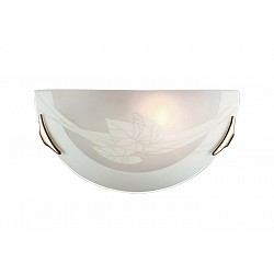 Накладной светильник SonexСветодиодные<br>Артикул - SN_048,Бренд - Sonex (Россия),Коллекция - List,Гарантия, месяцы - 24,Время изготовления, дней - 1,Высота, мм - 150,Тип лампы - компактная люминесцентная [КЛЛ] ИЛИнакаливания ИЛИсветодиодная [LED],Общее кол-во ламп - 1,Напряжение питания лампы, В - 220,Максимальная мощность лампы, Вт - 100,Лампы в комплекте - отсутствуют,Цвет плафонов и подвесок - белый с рисунком,Тип поверхности плафонов - матовый,Материал плафонов и подвесок - стекло,Цвет арматуры - золото,Тип поверхности арматуры - глянцевый,Материал арматуры - металл,Возможность подлючения диммера - можно, если установить лампу накаливания,Тип цоколя лампы - E27,Класс электробезопасности - I,Степень пылевлагозащиты, IP - 20,Диапазон рабочих температур - комнатная температура<br>