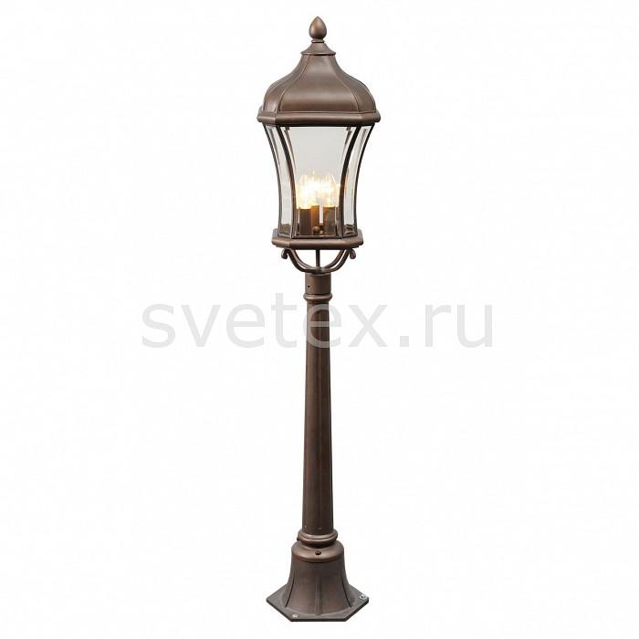 Наземный высокий светильник ChiaroСветильники<br>Артикул - CH_800040203,Бренд - Chiaro (Германия),Коллекция - Шато,Гарантия, месяцы - 24,Высота, мм - 1270,Диаметр, мм - 250,Тип лампы - компактная люминесцентная [КЛЛ] ИЛИнакаливания ИЛИсветодиодная [LED],Общее кол-во ламп - 3,Напряжение питания лампы, В - 220,Максимальная мощность лампы, Вт - 60,Лампы в комплекте - отсутствуют,Цвет плафонов и подвесок - неокрашенный,Тип поверхности плафонов - прозрачный,Материал плафонов и подвесок - стекло,Цвет арматуры - кофе с эффектом старения,Тип поверхности арматуры - матовый,Материал арматуры - сталь,Количество плафонов - 1,Форма и тип колбы - свеча,Тип цоколя лампы - E27,Класс электробезопасности - I,Общая мощность, Вт - 180,Степень пылевлагозащиты, IP - 44,Диапазон рабочих температур - от -40^C до +60^C<br>