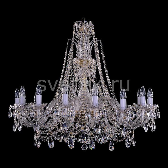 Фото Подвесная люстра Bohemia Ivele Crystal 1411 1411/16/360-87/G