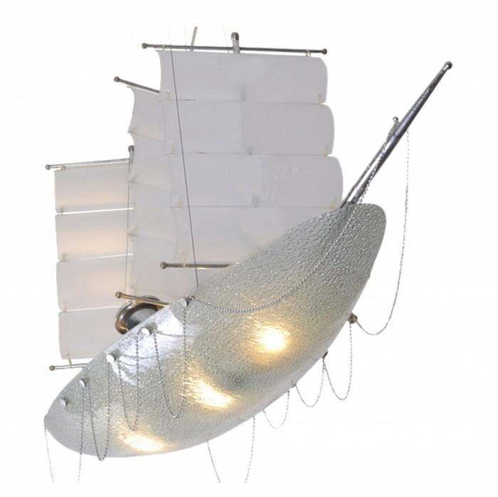 Подвесной светильник Kink LightСветодиодные<br>Артикул - KL_07421,Бренд - Kink Light (Китай),Коллекция - Парусник,Гарантия, месяцы - 12,Длина, мм - 700,Ширина, мм - 250,Высота, мм - 500-1200,Размер упаковки, мм - 260x310x800,Тип лампы - компактная люминесцентная [КЛЛ] ИЛИнакаливания ИЛИсветодиодная [LED],Общее кол-во ламп - 4,Напряжение питания лампы, В - 220,Максимальная мощность лампы, Вт - 40,Лампы в комплекте - отсутствуют,Цвет плафонов и подвесок - неокрашенный,Тип поверхности плафонов - матовый,Материал плафонов и подвесок - стекло,Цвет арматуры - белый, никель,Тип поверхности арматуры - матовый,Материал арматуры - металл, стекло,Количество плафонов - 1,Наличие выключателя, диммера или пульта ДУ - Пульт ДУ,Тип цоколя лампы - E27,Класс электробезопасности - II,Общая мощность, Вт - 160,Степень пылевлагозащиты, IP - 20,Диапазон рабочих температур - комнатная температура,Дополнительные параметры - способ крепления светильника к потолку - на монтажной пластине, регулируется по высоте<br>