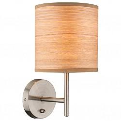 Бра GloboПолимерный плафон<br>Артикул - GB_15189W,Бренд - Globo (Австрия),Коллекция - Amy II,Гарантия, месяцы - 24,Высота, мм - 260,Размер упаковки, мм - 185х160х220,Тип лампы - компактная люминесцентная [КЛЛ] ИЛИнакаливания ИЛИсветодиодная [LED],Общее кол-во ламп - 1,Напряжение питания лампы, В - 220,Максимальная мощность лампы, Вт - 40,Лампы в комплекте - отсутствуют,Цвет плафонов и подвесок - коричневый полосатый,Тип поверхности плафонов - матовый,Материал плафонов и подвесок - акрил,Цвет арматуры - хром,Тип поверхности арматуры - глянцевый, металлик,Материал арматуры - металл,Возможность подлючения диммера - можно, если установить лампу накаливания,Тип цоколя лампы - E14,Класс электробезопасности - I,Степень пылевлагозащиты, IP - 20,Диапазон рабочих температур - комнатная температура,Дополнительные параметры - светильник предназначен для использования со скрытой проводкой<br>