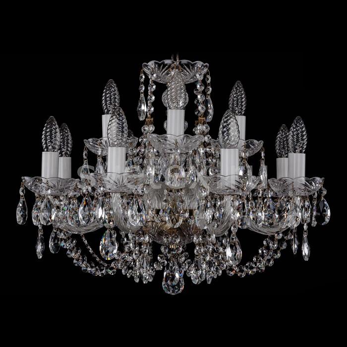 Фото Подвесная люстра Bohemia Ivele Crystal 1406 1406/8_4/195/Pa