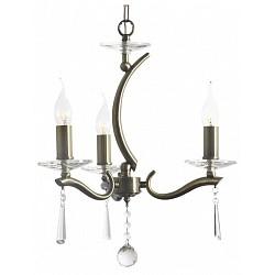 Подвесная люстра Arti LampadariНе более 4 ламп<br>Артикул - AL_Monti_E_1.1.3_A,Бренд - Arti Lampadari (Италия),Коллекция - Monti,Гарантия, месяцы - 24,Высота, мм - 370,Диаметр, мм - 400,Тип лампы - компактная люминесцентная [КЛЛ] ИЛИнакаливания ИЛИсветодиодная [LED],Общее кол-во ламп - 3,Напряжение питания лампы, В - 220,Максимальная мощность лампы, Вт - 40,Лампы в комплекте - отсутствуют,Цвет плафонов и подвесок - неокрашенные,Тип поверхности плафонов - прозрачный,Материал плафонов и подвесок - хрусталь,Цвет арматуры - зотоло античное, неокрашенный,Тип поверхности арматуры - глянцевый, прозрачный,Материал арматуры - металл, стекло,Возможность подлючения диммера - можно, если установить лампу накаливания,Форма и тип колбы - свеча ИЛИ свеча на ветру,Тип цоколя лампы - E14,Класс электробезопасности - I,Общая мощность, Вт - 120,Степень пылевлагозащиты, IP - 20,Диапазон рабочих температур - комнатная температура,Дополнительные параметры - указана высота светильника без подвеса,  способ крепления светильника к потолку – на крюке<br>