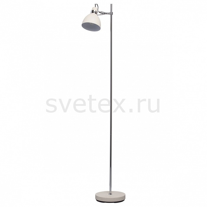 Торшер MW-LightАртикул - MW_680041101,Бренд - MW-Light (Германия),Коллекция - Акцент 1,Гарантия, месяцы - 24,Ширина, мм - 250,Высота, мм - 1500,Выступ, мм - 370,Тип лампы - компактная люминесцентная [КЛЛ] ИЛИнакаливания ИЛИсветодиодная [LED],Общее кол-во ламп - 1,Напряжение питания лампы, В - 220,Максимальная мощность лампы, Вт - 40,Лампы в комплекте - отсутствуют,Цвет плафонов и подвесок - молочный,Тип поверхности плафонов - матовый,Материал плафонов и подвесок - металл,Цвет арматуры - молочный, хром,Тип поверхности арматуры - глянцевый, матовый,Материал арматуры - металл,Количество плафонов - 1,Наличие выключателя, диммера или пульта ДУ - выключатель ножной,Компоненты, входящие в комплект - провод электропитания с вилкой без заземления,Тип цоколя лампы - E27,Класс электробезопасности - II,Степень пылевлагозащиты, IP - 20,Диапазон рабочих температур - комнатная температура,Дополнительные параметры - поворотный светильник<br>