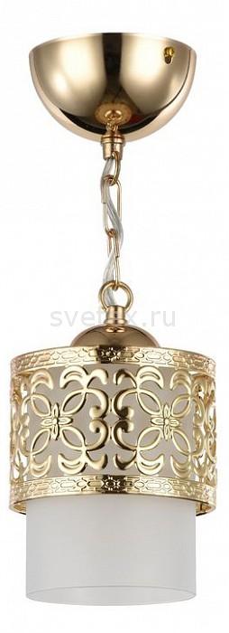 Подвесной светильник FreyaБарные<br>Артикул - MY_FR200-11-G,Бренд - Freya (Германия),Коллекция - Teofilo,Гарантия, месяцы - 24,Высота, мм - 165-920,Диаметр, мм - 120,Тип лампы - компактная люминесцентная [КЛЛ] ИЛИнакаливания ИЛИсветодиодная  [LED],Общее кол-во ламп - 1,Напряжение питания лампы, В - 220,Максимальная мощность лампы, Вт - 60,Лампы в комплекте - отсутствуют,Цвет плафонов и подвесок - белый,Тип поверхности плафонов - матовый,Материал плафонов и подвесок - стекло,Цвет арматуры - золото,Тип поверхности арматуры - глянцевый,Материал арматуры - металл,Количество плафонов - 1,Возможность подлючения диммера - можно, если установить лампу накаливания,Тип цоколя лампы - E27,Класс электробезопасности - I,Степень пылевлагозащиты, IP - 20,Диапазон рабочих температур - комнатная температура,Дополнительные параметры - способ крепления светильника к потолку - на монтажной пластине, регулируется по высоте, размер плафона 120x85 мм<br>