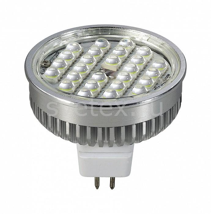 Фото Лампа светодиодная Novotech GX5.3 12В 5Вт 4100 K 357098