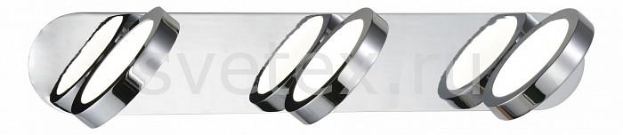 Накладной светильник ST-LuceСветодиодные<br>Артикул - SL588.501.03,Бренд - ST-Luce (Италия),Коллекция - Colo,Гарантия, месяцы - 24,Время изготовления, дней - 1,Ширина, мм - 400,Высота, мм - 130,Выступ, мм - 130,Тип лампы - светодиодная [LED],Общее кол-во ламп - 3,Напряжение питания лампы, В - 220,Максимальная мощность лампы, Вт - 4.5,Цвет лампы - белый,Лампы в комплекте - светодиодные [LED],Цвет плафонов и подвесок - белый, хром,Тип поверхности плафонов - глянцевый, матовый,Материал плафонов и подвесок - акрил, металл,Цвет арматуры - хром,Тип поверхности арматуры - глянцевый,Материал арматуры - металл,Количество плафонов - 3,Возможность подлючения диммера - нельзя,Цветовая температура, K - 4000 K,Экономичнее лампы накаливания - в 10 раз,Класс электробезопасности - I,Общая мощность, Вт - 13,Степень пылевлагозащиты, IP - 20,Диапазон рабочих температур - комнатная температура,Дополнительные параметры - светильник предназначен для использования со скрытой проводкой<br>