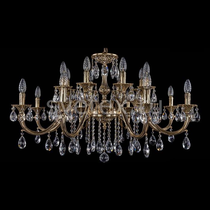 Фото Подвесная люстра Bohemia Ivele Crystal 1703 1703/16/360/A/GB