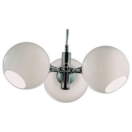 Подвесная люстра FavouriteЛюстры<br>Артикул - FV_2332-3P,Бренд - Favourite (Германия),Коллекция - Bolle,Гарантия, месяцы - 24,Время изготовления, дней - 1,Высота, мм - 120,Диаметр, мм - 453,Размер упаковки, мм - 400x380x195,Тип лампы - компактная люминесцентная [КЛЛ] ИЛИнакаливания ИЛИсветодиодная [LED],Общее кол-во ламп - 3,Напряжение питания лампы, В - 220,Максимальная мощность лампы, Вт - 40,Лампы в комплекте - отсутствуют,Цвет плафонов и подвесок - белый,Тип поверхности плафонов - матовый,Материал плафонов и подвесок - стекло,Цвет арматуры - хром,Тип поверхности арматуры - глянцевый,Материал арматуры - металл,Количество плафонов - 3,Возможность подлючения диммера - можно, если установить лампу накаливания,Тип цоколя лампы - E27,Класс электробезопасности - I,Общая мощность, Вт - 120,Степень пылевлагозащиты, IP - 20,Диапазон рабочих температур - комнатная температура,Дополнительные параметры - указана высота светильника без подвеса<br>