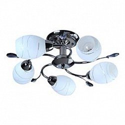 Люстра на штанге Mobitlux5 или 6 ламп<br>Артикул - MB_702.00,Бренд - Mobitlux (Австрия),Коллекция - MB-702,Гарантия, месяцы - 24,Высота, мм - 200,Диаметр, мм - 500,Тип лампы - компактная люминесцентная [КЛЛ] ИЛИнакаливания ИЛИсветодиодная [LED],Общее кол-во ламп - 5,Напряжение питания лампы, В - 220,Максимальная мощность лампы, Вт - 60,Лампы в комплекте - отсутствуют,Цвет плафонов и подвесок - белый, черный,Тип поверхности плафонов - матовый,Материал плафонов и подвесок - стекло,Цвет арматуры - черный никель,Тип поверхности арматуры - глянцевый,Материал арматуры - металл,Возможность подлючения диммера - можно, если установить лампу накаливания,Тип цоколя лампы - E14,Класс электробезопасности - I,Общая мощность, Вт - 300,Степень пылевлагозащиты, IP - 20,Диапазон рабочих температур - комнатная температура<br>