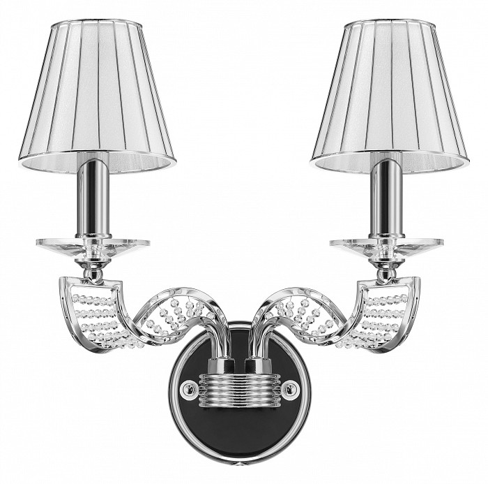Бра OsgonaБолее 1 лампы<br>Артикул - LS_702624,Бренд - Osgona (Италия),Коллекция - Alveare,Гарантия, месяцы - 24,Время изготовления, дней - 1,Ширина, мм - 390,Высота, мм - 370,Выступ, мм - 220,Тип лампы - компактная люминесцентная [КЛЛ] ИЛИнакаливания ИЛИсветодиодная [LED],Общее кол-во ламп - 2,Напряжение питания лампы, В - 220,Максимальная мощность лампы, Вт - 40,Лампы в комплекте - отсутствуют,Цвет плафонов и подвесок - белый,Тип поверхности плафонов - матовый,Материал плафонов и подвесок - стекло,Цвет арматуры - неокрашенный, хром,Тип поверхности арматуры - глянцевый, прозрачный,Материал арматуры - металл, хрусталь,Количество плафонов - 2,Возможность подлючения диммера - можно, если установить лампу накаливания,Тип цоколя лампы - E14,Класс электробезопасности - I,Общая мощность, Вт - 80,Степень пылевлагозащиты, IP - 20,Диапазон рабочих температур - комнатная температура,Дополнительные параметры - светильник предназначен для использования со скрытой проводкой<br>