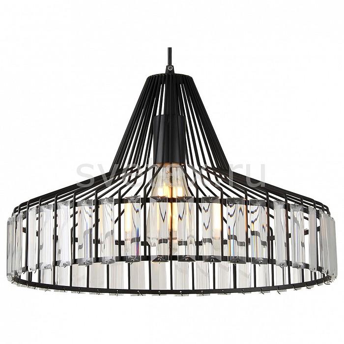 Подвесной светильник LussoleПодвесные светильники<br>Артикул - LSP-9948,Бренд - Lussole (Италия),Коллекция - LSP-9948,Гарантия, месяцы - 24,Высота, мм - 270-1200,Диаметр, мм - 410,Тип лампы - компактная люминесцентная [КЛЛ] ИЛИнакаливания ИЛИсветодиодная [LED],Общее кол-во ламп - 1,Напряжение питания лампы, В - 220,Максимальная мощность лампы, Вт - 60,Лампы в комплекте - отсутствуют,Цвет плафонов и подвесок - неокрашенный, черный,Тип поверхности плафонов - матовый, прозрачный,Материал плафонов и подвесок - металл, хрусталь,Цвет арматуры - черный,Тип поверхности арматуры - матовый,Материал арматуры - металл,Количество плафонов - 1,Возможность подлючения диммера - можно, если установить лампу накаливания,Тип цоколя лампы - E27,Класс электробезопасности - I,Степень пылевлагозащиты, IP - 20,Диапазон рабочих температур - комнатная температура,Дополнительные параметры - способ крепления светильника к потолку - на монтажной пластине, светильник регулируется по высоте<br>
