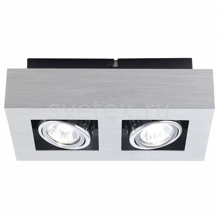 Накладной светильник EgloНакладные светильники<br>Артикул - EG_89076,Бренд - Eglo (Австрия),Коллекция - Loke,Гарантия, месяцы - 24,Время изготовления, дней - 1,Длина, мм - 250,Ширина, мм - 140,Выступ, мм - 75,Тип лампы - галогеновая,Общее кол-во ламп - 2,Напряжение питания лампы, В - 220,Максимальная мощность лампы, Вт - 35,Цвет лампы - белый теплый,Лампы в комплекте - галогеновые GU10,Цвет плафонов и подвесок - алюминий,Тип поверхности плафонов - глянцевый,Материал плафонов и подвесок - металл,Цвет арматуры - алюминий, хром, черный,Тип поверхности арматуры - матовый,Материал арматуры - металл,Количество плафонов - 2,Возможность подлючения диммера - можно,Форма и тип колбы - полусферическая с рефлектором,Тип цоколя лампы - GU10,Цветовая температура, K - 2800 - 3200 K,Экономичнее лампы накаливания - на 50%,Класс электробезопасности - I,Общая мощность, Вт - 70,Степень пылевлагозащиты, IP - 20,Диапазон рабочих температур - комнатная температура,Дополнительные параметры - поворотный светильник<br>