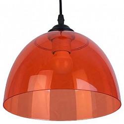 Подвесной светильник TopLightДля кухни<br>Артикул - TPL_TL4480D-01TP,Бренд - TopLight (Россия),Коллекция - Karin,Гарантия, месяцы - 24,Высота, мм - 1000,Диаметр, мм - 230,Тип лампы - компактная люминесцентная [КЛЛ] ИЛИнакаливания ИЛИсветодиодная [LED],Общее кол-во ламп - 1,Напряжение питания лампы, В - 220,Максимальная мощность лампы, Вт - 40,Лампы в комплекте - отсутствуют,Цвет плафонов и подвесок - красный,Тип поверхности плафонов - прозрачный,Материал плафонов и подвесок - полимер,Цвет арматуры - черный,Тип поверхности арматуры - матовый,Материал арматуры - металл,Возможность подлючения диммера - можно, если установить лампу накаливания,Тип цоколя лампы - E27,Класс электробезопасности - I,Степень пылевлагозащиты, IP - 20,Диапазон рабочих температур - комнатная температура,Дополнительные параметры - способ крепления светильника к потолку - на монтажной пластине, регулируется по высоте<br>