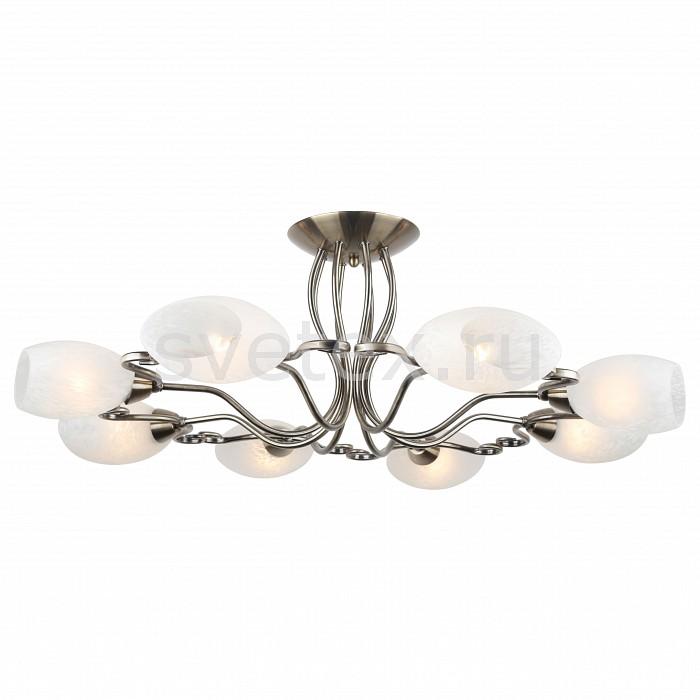 Люстра на штанге Arte LampЛюстры<br>Артикул - AR_A6200PL-8AB,Бренд - Arte Lamp (Италия),Коллекция - Zetta,Гарантия, месяцы - 24,Высота, мм - 280,Диаметр, мм - 860,Размер упаковки, мм - 460x370x300,Тип лампы - компактная люминесцентная [КЛЛ] ИЛИнакаливания ИЛИсветодиодная [LED],Общее кол-во ламп - 8,Напряжение питания лампы, В - 220,Максимальная мощность лампы, Вт - 40,Лампы в комплекте - отсутствуют,Цвет плафонов и подвесок - белый с рисунком,Тип поверхности плафонов - матовый,Материал плафонов и подвесок - стекло,Цвет арматуры - бронза античная,Тип поверхности арматуры - матовый,Материал арматуры - металл,Количество плафонов - 8,Возможность подлючения диммера - можно, если установить лампу накаливания,Тип цоколя лампы - E14,Класс электробезопасности - I,Общая мощность, Вт - 320,Степень пылевлагозащиты, IP - 20,Диапазон рабочих температур - комнатная температура,Дополнительные параметры - способ крепления светильника к потолку – на монтажной пластине<br>