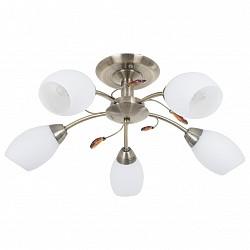 Люстра на штанге Mobitlux5 или 6 ламп<br>Артикул - MB_703.01,Бренд - Mobitlux (Австрия),Коллекция - MB-703,Гарантия, месяцы - 24,Высота, мм - 200,Диаметр, мм - 550,Тип лампы - компактная люминесцентная [КЛЛ] ИЛИнакаливания ИЛИсветодиодная [LED],Общее кол-во ламп - 5,Напряжение питания лампы, В - 220,Максимальная мощность лампы, Вт - 60,Лампы в комплекте - отсутствуют,Цвет плафонов и подвесок - белый, янтарный,Тип поверхности плафонов - матовый,Материал плафонов и подвесок - стекло,Цвет арматуры - античная бронза,Тип поверхности арматуры - глянцевый,Материал арматуры - металл,Возможность подлючения диммера - можно, если установить лампу накаливания,Тип цоколя лампы - E14,Класс электробезопасности - I,Общая мощность, Вт - 300,Степень пылевлагозащиты, IP - 20,Диапазон рабочих температур - комнатная температура<br>