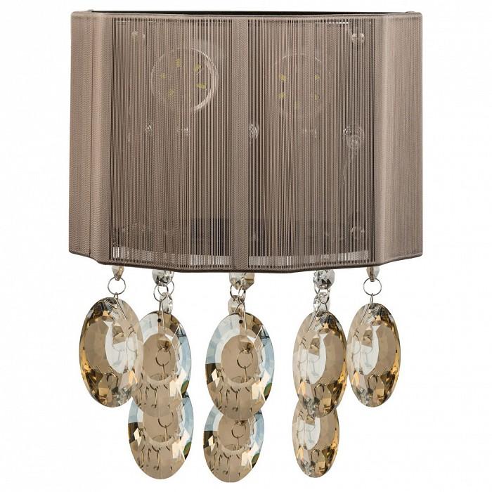 Накладной светильник MW-LightСветодиодные<br>Артикул - MW_465022805,Бренд - MW-Light (Германия),Коллекция - Жаклин 2,Гарантия, месяцы - 24,Ширина, мм - 210,Высота, мм - 300,Выступ, мм - 150,Тип лампы - галогеновая,Общее кол-во ламп - 2,Напряжение питания лампы, В - 220,Максимальная мощность лампы, Вт - 20,Цвет лампы - белый теплый,Лампы в комплекте - галогеновые G4,Цвет плафонов и подвесок - кофе, неокрашенный,Тип поверхности плафонов - матовый, прозрачный,Материал плафонов и подвесок - огранза, хрусталь,Цвет арматуры - хром,Тип поверхности арматуры - глянцевый,Материал арматуры - металл,Количество плафонов - 1,Возможность подлючения диммера - можно,Компоненты, входящие в комплект - трансформатор 12 В,Форма и тип колбы - пальчиковая,Тип цоколя лампы - G4,Цветовая температура, K - 2800 - 3200 K,Экономичнее лампы накаливания - на 50%,Класс электробезопасности - I,Общая мощность, Вт - 60,Степень пылевлагозащиты, IP - 20,Диапазон рабочих температур - комнатная температура,Дополнительные параметры - светильник предназначен для использования со скрытой проводкой, декорирован светодиодами<br>