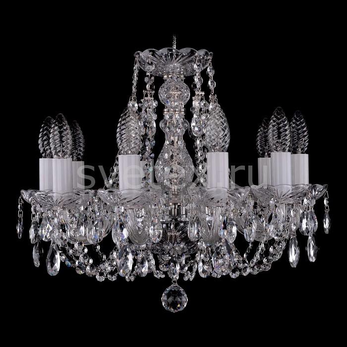 Фото Подвесная люстра Bohemia Ivele Crystal 1406 1406/10/141/Ni