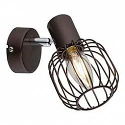 Спот GloboС 1 лампой<br>Артикул - GB_54801-1,Бренд - Globo (Австрия),Коллекция - Akin,Гарантия, месяцы - 24,Тип лампы - компактная люминесцентная [КЛЛ] ИЛИнакаливания ИЛИсветодиодная [LED],Общее кол-во ламп - 1,Напряжение питания лампы, В - 220,Максимальная мощность лампы, Вт - 40,Лампы в комплекте - отсутствуют,Цвет плафонов и подвесок - кофейный,Тип поверхности плафонов - матовый,Материал плафонов и подвесок - металл,Цвет арматуры - кофейный,Тип поверхности арматуры - матовый,Материал арматуры - металл,Возможность подлючения диммера - можно, если установить лампу накаливания,Тип цоколя лампы - E14,Класс электробезопасности - I,Степень пылевлагозащиты, IP - 20,Диапазон рабочих температур - комнатная температура,Дополнительные параметры - способ крепления светильника к потолку и стене - на монтажной пластине, поворотный светильник<br>