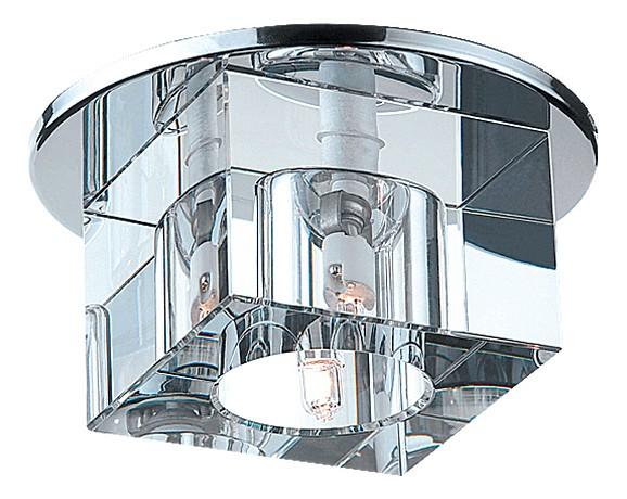 Фото Встраиваемый светильник Novotech Cubic 369381