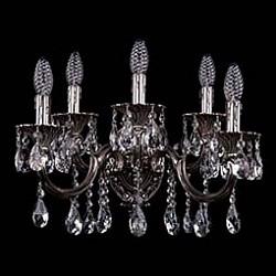 Бра Bohemia Ivele CrystalБолее 1 лампы<br>Артикул - BI_1700_5_A_NB,Бренд - Bohemia Ivele Crystal (Чехия),Коллекция - 1700,Гарантия, месяцы - 24,Высота, мм - 280,Размер упаковки, мм - 450x450x200,Тип лампы - компактная люминесцентная [КЛЛ] ИЛИнакаливания ИЛИсветодиодная [LED],Общее кол-во ламп - 5,Напряжение питания лампы, В - 220,Максимальная мощность лампы, Вт - 40,Лампы в комплекте - отсутствуют,Цвет плафонов и подвесок - неокрашенный,Тип поверхности плафонов - прозрачный,Материал плафонов и подвесок - хрусталь,Цвет арматуры - никель черненый,Тип поверхности арматуры - глянцевый, рельефный,Материал арматуры - латунь,Возможность подлючения диммера - можно, если установить лампу накаливания,Форма и тип колбы - свеча ИЛИ свеча на ветру,Тип цоколя лампы - E14,Класс электробезопасности - I,Общая мощность, Вт - 200,Степень пылевлагозащиты, IP - 20,Диапазон рабочих температур - комнатная температура,Дополнительные параметры - способ крепления светильника на стене – на монтажной пластине, светильник предназначен для использования со скрытой проводкой<br>