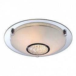 Накладной светильник GloboКруглые<br>Артикул - GB_48339-2,Бренд - Globo (Австрия),Коллекция - Edera,Гарантия, месяцы - 24,Высота, мм - 90,Диаметр, мм - 315,Тип лампы - компактная люминесцентная [КЛЛ] ИЛИнакаливания ИЛИсветодиодная [LED],Общее кол-во ламп - 2,Напряжение питания лампы, В - 230,Максимальная мощность лампы, Вт - 60,Лампы в комплекте - отсутствуют,Цвет плафонов и подвесок - белый, неокрашенный,Тип поверхности плафонов - матовый, прозрачный,Материал плафонов и подвесок - стекло, хрусталь K5,Цвет арматуры - неокрашенный, хром,Тип поверхности арматуры - глянцевый,Материал арматуры - металл, стекло,Количество плафонов - 1,Возможность подлючения диммера - можно, если установить лампу накаливания,Тип цоколя лампы - E27,Класс электробезопасности - I,Общая мощность, Вт - 120,Степень пылевлагозащиты, IP - 20,Диапазон рабочих температур - комнатная температура<br>