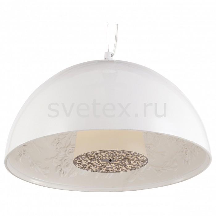 Подвесной светильник Arte LampСветодиодные<br>Артикул - AR_A4175SP-1WH,Бренд - Arte Lamp (Италия),Коллекция - Rome,Время изготовления, дней - 1,Высота, мм - 230-800,Диаметр, мм - 400,Тип лампы - компактная люминесцентная [КЛЛ] ИЛИнакаливания ИЛИсветодиодная [LED],Общее кол-во ламп - 1,Напряжение питания лампы, В - 220,Максимальная мощность лампы, Вт - 40,Лампы в комплекте - отсутствуют,Цвет плафонов и подвесок - белый,Тип поверхности плафонов - глянцевый,Материал плафонов и подвесок - полимер, стекло,Цвет арматуры - белый,Тип поверхности арматуры - глянцевый,Материал арматуры - металл,Количество плафонов - 1,Возможность подлючения диммера - можно, если установить лампу накаливания,Тип цоколя лампы - E27,Класс электробезопасности - I,Степень пылевлагозащиты, IP - 20,Диапазон рабочих температур - комнатная температура,Дополнительные параметры - способ крепления светильника к потолку – на монтажной пластине или крюке<br>