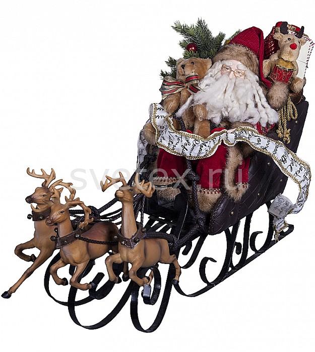 Фото Дед Мороз Mister Christmas x 76 см Дед Мороз