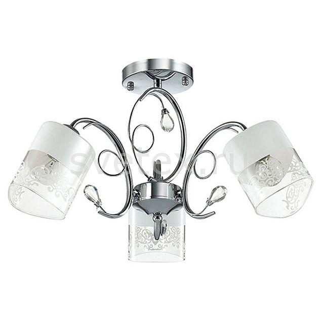Люстра на штанге LumionЛюстры<br>Артикул - LMN_3061_3C,Бренд - Lumion (Италия),Коллекция - Gella,Гарантия, месяцы - 24,Высота, мм - 295,Диаметр, мм - 500,Размер упаковки, мм - 265x250x250,Тип лампы - компактная люминесцентная [КЛЛ] ИЛИнакаливания ИЛИсветодиодная [LED],Общее кол-во ламп - 3,Напряжение питания лампы, В - 220,Максимальная мощность лампы, Вт - 40,Лампы в комплекте - отсутствуют,Цвет плафонов и подвесок - белый, неокрашенный, неокрашенный с белым рисунком,Тип поверхности плафонов - матовый, прозрачный,Материал плафонов и подвесок - стекло, хрусталь,Цвет арматуры - хром,Тип поверхности арматуры - глянцевый, металлик,Материал арматуры - металл,Количество плафонов - 3,Возможность подлючения диммера - можно, если установить лампу накаливания,Тип цоколя лампы - E14,Класс электробезопасности - I,Общая мощность, Вт - 120,Степень пылевлагозащиты, IP - 20,Диапазон рабочих температур - комнатная температура,Дополнительные параметры - способ крепления к потолку - на монтажной пластине<br>