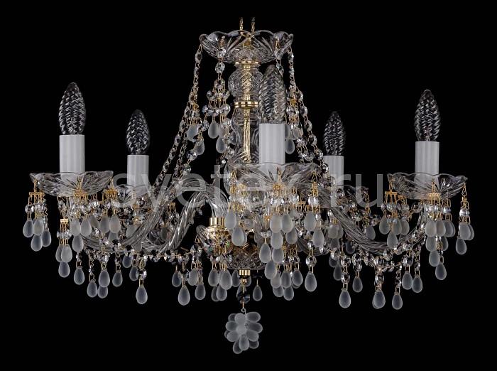 Фото Подвесная люстра Bohemia Ivele Crystal 1410 1410/5/195/G/0300