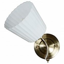 Бра IDLampС 1 лампой<br>Артикул - ID_879_1A-Oldbronze,Бренд - IDLamp (Италия),Коллекция - 879,Гарантия, месяцы - 24,Высота, мм - 250,Тип лампы - компактная люминесцентная [КЛЛ] ИЛИнакаливания ИЛИсветодиодная [LED],Общее кол-во ламп - 1,Напряжение питания лампы, В - 220,Максимальная мощность лампы, Вт - 40,Лампы в комплекте - отсутствуют,Цвет плафонов и подвесок - белый,Тип поверхности плафонов - матовый, рельефный,Материал плафонов и подвесок - стекло,Цвет арматуры - бронза,Тип поверхности арматуры - глянцевый,Материал арматуры - металл,Тип цоколя лампы - E27,Степень пылевлагозащиты, IP - 20,Диапазон рабочих температур - комнатная температура,Дополнительные параметры - светильник предназначен для использования со скрытой проводкой<br>
