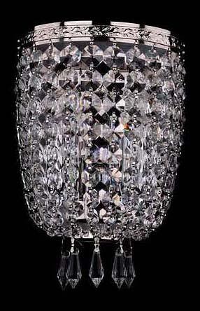 Фото Накладной светильник Bohemia Ivele Crystal 1927 1927/2/Ni
